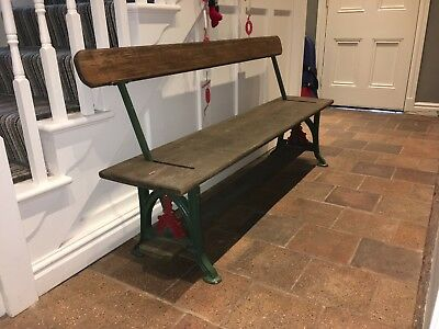 RAILWAY BENCH - Two way Victorian / Edwardian style Cast Iron Supports