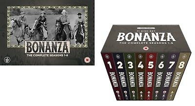 BONANZA 1-8 (1959-1967): NEW Official Digitalized TV Season Series R2 DVD not US