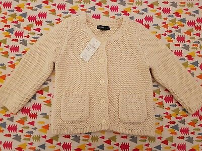 Baby Gap Knitted Cardigan. Brand New with Tags.  Size UK 12-18 months
