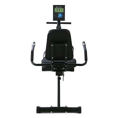 Capital Sports Ergometer Heimtrainer Fitness Bike Computer Puls-Messer Schwarz
