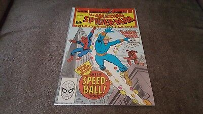 The Amazing Spider-Man Annual #22 ([July] 1988, Marvel) 1ST. SPEEDBALL!!..NM-