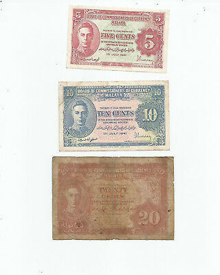 Malaya  Three  Notes  1941
