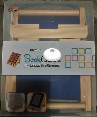 BRAND NEW Blue medium Book Chair for books and eReaders by Thinking Gifts Ltd.