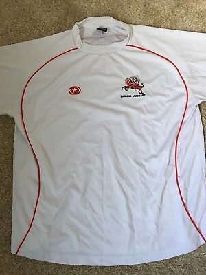 England Lionheart's Rugby League Shirt XL