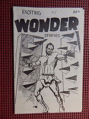 Exciting Wonder Stories #1 1963 Comic/Movie/Fanzine
