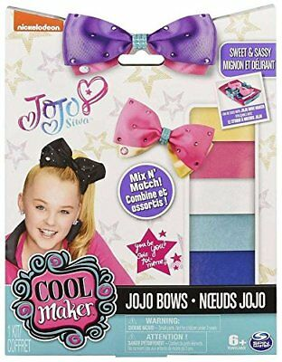Cool Maker JoJo Siwa Bow Maker Kit, Spin Master, Makes 5 Bows, Sold Out!