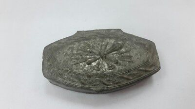 R Old collectible Turkish Greek Balkan snuff box or pill box 18-19th century