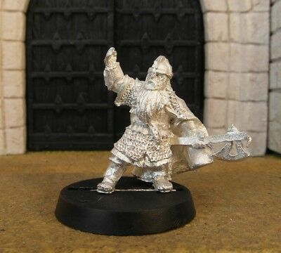 DWARF CAPTAIN - Lord Of The Rings Metal Figure(s)