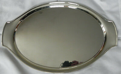 Large Solid Sterling Silver Tray Designed by Eric Clements (not engraved) 1525g
