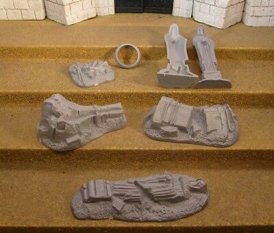 SET OF RUINS  - Lord Of The Rings Plastic