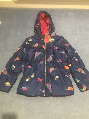 Joules Girls Coat Age 9-10 Years BNWT