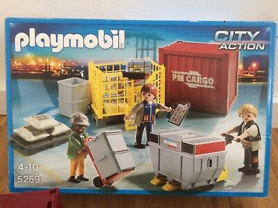 Playmobil - #5259 - Cargo Container Set - incl. Verpackung
