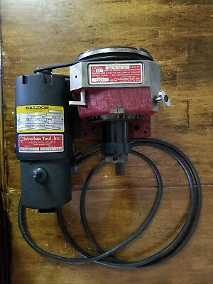 Suburban Tool Master Grind Index/Spin Fixture with attached Baldor motor drive