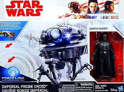 Star Wars The Last Jedi Für Auspacker! Darth Vader & Imperial Probe Droid Hasbro
