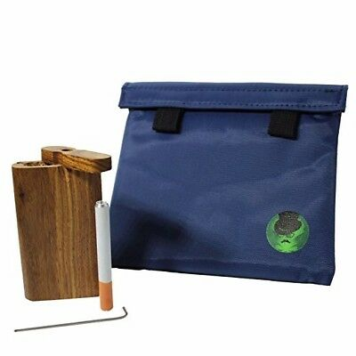 High Quality Smell Proof Bag with Raw Natural Wood dugout Container