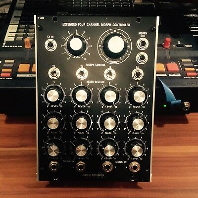 Club of the Knobs C1620 Morph Controller [Modular Synthesizer 5U / Moog Format]