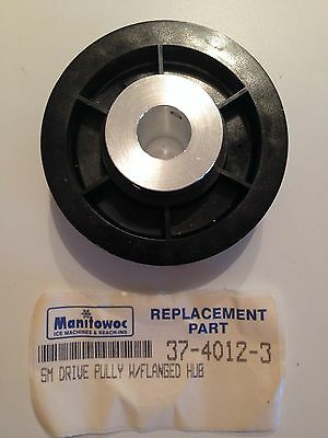 Manitowoc Ice Dispenser Small Drive Pully with Flanged Hub P/N 37-4012-3