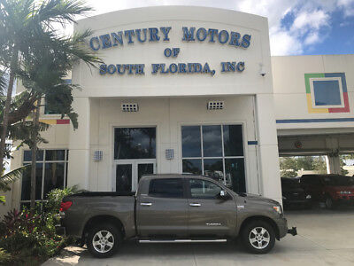 2007 Toyota Tundra Limited Crew Cab Pickup 4-Door 1 Owner Tow Package 4 Door Heated Leather