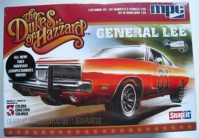 Dodge Charger  the Dukes of Hazzard  General Lee  mpc  1:25  NEU