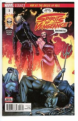 Spirits Of Vengeance  #3   * First Print *  Legacy  Ghost Rider    Nm