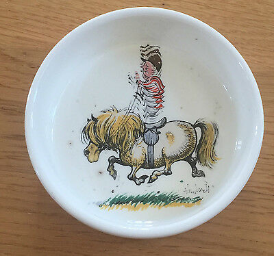 PRINKNASH pottery Thewell Ponies dish. Collectable
