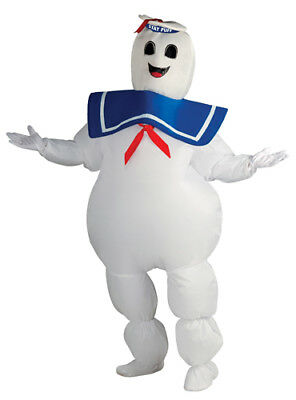 Adult Inflatable Stay Puft Ghostbuster Costume Standard