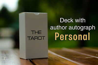 THE TAROT 78 With Author Autograph Tarot Cards Deck Minimalism Based on Raider