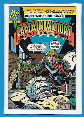 Captain Victory And The Galactic Rangers #2_January 1982_Vf_Jack Kirby_Pc!