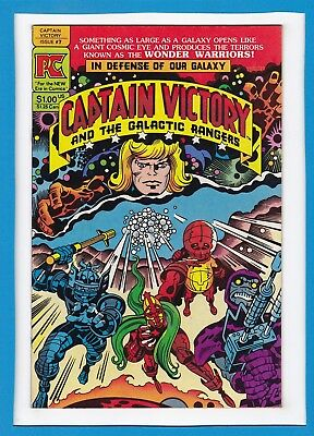 Captain Victory And The Galactic Rangers #7_October 1982_Vf Minus_Jack Kirby_Pc!
