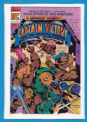 Captain Victory And The Galactic Rangers Special #1_ Oct 1983_Vf_Jack Kirby_Pc!