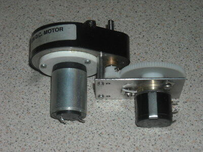 RS precision ovoid 160:1 ratio gearbox 12V motor and servo pot