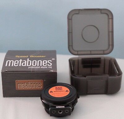 Metabones Speed Booster XL 0.64x Adapter for Canon EF Lens to Micro 4/3w/ case
