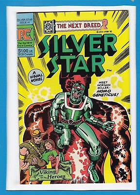 SILVER STAR...THE NEXT BREED #1_FEBRUARY 1983_FINE_1st FAB ISSUE_JACK KIRBY_PC!