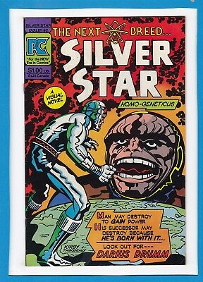 Silver Star...the Next Breed #2_April 1983_Very Fine+_Jack Kirby_Pc!