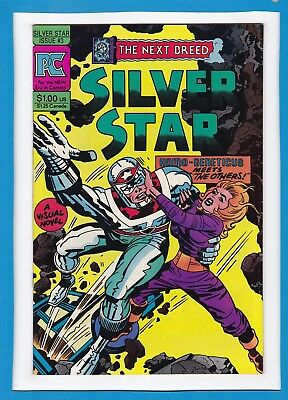 Silver Star...the Next Breed #3_June 1983_Very Fine Minus_Jack Kirby_Pc!