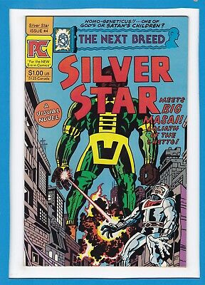 Silver Star...the Next Breed #4_August 1983_Very Fine+_Big Masai_Jack Kirby_Pc!