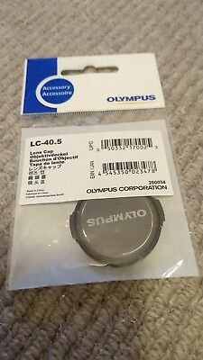 Olympus LC-40.5 Lens Cap Brand New Unused MFT Micro Four Thirds