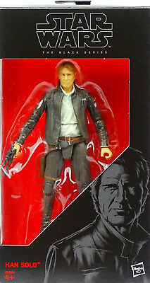 "Han Solo Rebel Hero The Force Awakens 6"" Inch Star Wars Black Series Von Hasbro"