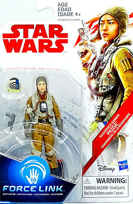 Star Wars The Last Jedi Paige Resitance Gunner Tlj Collection 2017 Hasbro Neu
