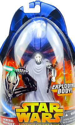 General Grievous Für Auspacker! Star Wars Revenge Of The Sith Collection Hasbro
