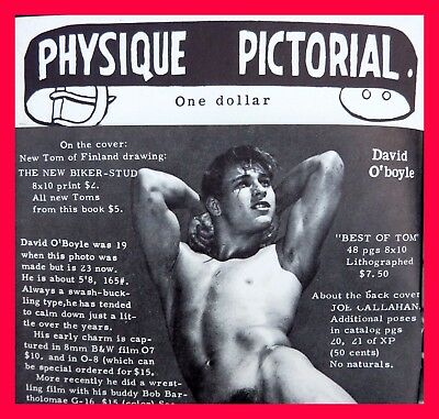 Physique Pictorial Vol19 No1 Male Semi Nude Gay Interest Tom Finland Cowboy Art