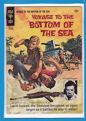 Voyage To The Bottom Of The Sea #6_November 1966_Very Good_Silver Age Gold Key!