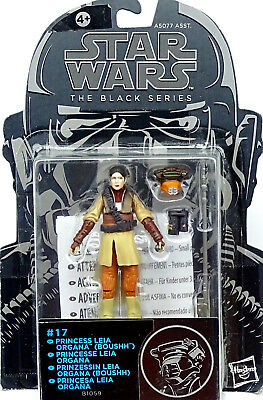 Princess Leia Organa (Boushh) Für Auspacker Star Wars The Black Series Hasbro