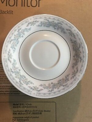 8 Excel China Cups & 8 Saucers In The Somerset Pattern, China