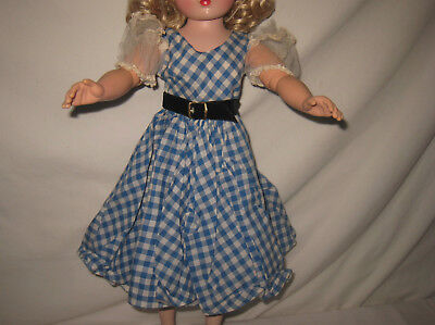 "1955 Mme Alexander Puffed Sleeve Dress for 20"" Cissy Doll *CLOTHING ONLY*  MJ36"