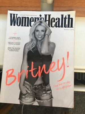 Womens Health Magazine Issue 21 March 2015 Collectors Edition Britney Spears