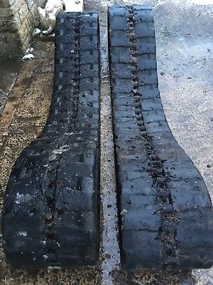 Rubber tracks to fit Takeuchi TB145 digger