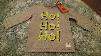 Baby Boys Christmas Top NEXT age 9-12 months bnwt