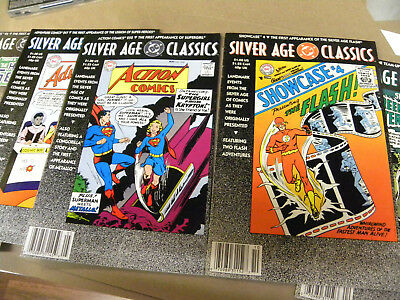 1992 5 DC Silver Age Classics ishs SHOWCASE #4 ACTION 252 House of Secrets 92 +