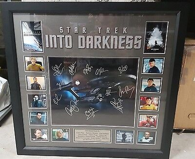 framework signed star trek into to darkness prop store
